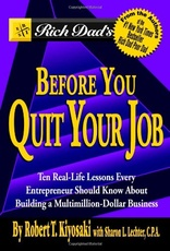 RICH DAD S BEFORE YOU QUIT YOUR JOB - Warner