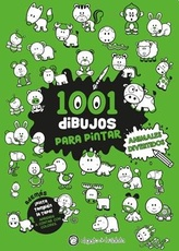 1001 DIBUJOS PARA PINTAR - ANIMLAES DIVERTIDOS